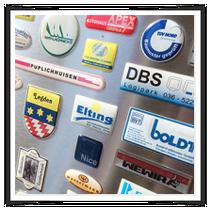 3D Aufkleber Doming Harz Sticker