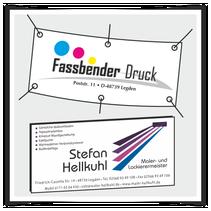 Werbebanner Werbeschilder Werbeplatten Banner Plakat
