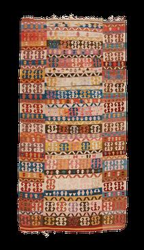 """Teppich. Zürich. Antique """"Enikli"""" Kilim from Konya, wool. Handgewebter Teppich, Antik Konya Kelim. Laden in Zürich, kilim antique, Suisse"""