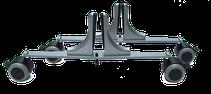 Roulettes pour panneaux de séparation
