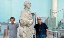 tailleur de pierre, restauration de statue