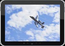 Chiedere il supporto aereo di un A-10 con un Tablet Android.