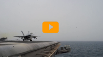 VIDEO - Inherent Resolve: FA-18E/F Super Hornet in azione sul Golfo Persico.