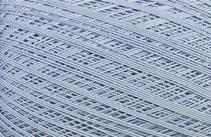 Coton Oeko-Tex bleu pale pour bijoux au crochet
