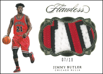 JIMMY BUTLER / Jumbo Patch - No. P-JBU  (#d 7/10)