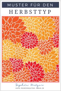 Blogartikel: die besten Muster für den Herbsttypen