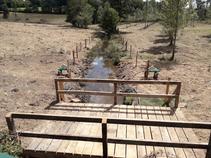 Passerelle bétail / Pompes de prairie / Clôture barbelé - A. GADEAU