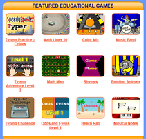 More learning games at Learning Games For Kids