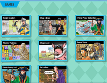Horrible Histories games suitable for Key Stage 2