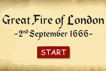 A game based on helping during the Great Fire of London