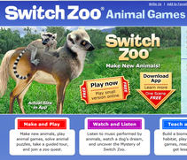 Games about the environment - create a new species!