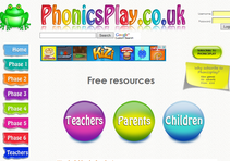 Improve your phonics with Phonics Play