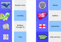 A great variety of maths games