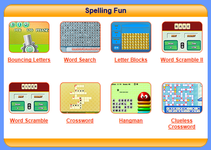 Some great games to help you improve you spelling