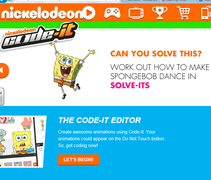 Learn how to code with your favourite Nickelodean characters