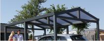 Aluminium-Satteldach-Einzelcarport Typ G - Direkt zum Konfigurator mit Preis