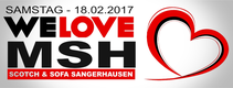 18.02.2017 WE Love MSH I Scotch & Sofa Sangerhausen