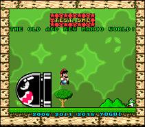 test.smc - The old and new Mario World