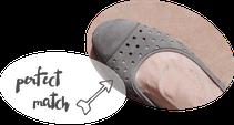 Gabor Shoes Ballerina Fumo