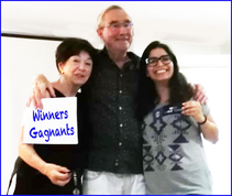 Toastmasters Nice winners / gagnants 15.07.2019