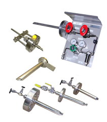 Gas and liquid sample probes - isokinetic steam nozzles