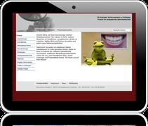 Website der Zahnarztpraxis Dr. Andreas Scheunemann in Schwabhausen bei Dachau