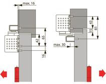 Türschliesser DORMA TS93B Basic, mit Gleitschiene