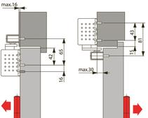 Türschliesser DORMA TS92B, mit Gleitschiene