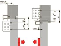 Türschliesser DORMA TS92G, mit Gleitschiene