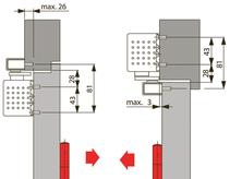 Türschliesser DORMA TS93G, mit Gleitschiene