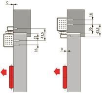 Türschliesser DORMA TS97, mit Gleitschiene