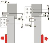 Türschliesser DORMA TS91B, mit Gleitschiene