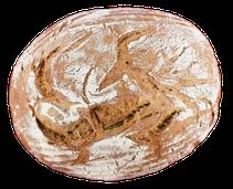 Schtarker Schrader, Roggenmischbrot, rustikal, Brotzeit, Abendbrot