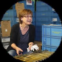 Abteilungsleiterin Galvanik der OFB Oberflächenbearbeitung Kimax GmbH Isabell Große