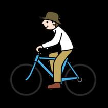自転車お父さん