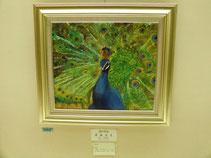 奨励賞作品:「煌の美鳥」 油彩・F10号 <小学6年生>