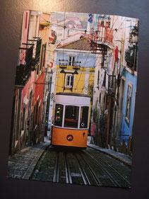 Postkarte Portugal Kunden Lissabon Reise Hotel