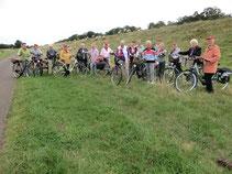 Am 03.09.13 traf man sich zur letzten Fahrradtour 2013