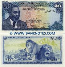 Euro / Scellino Keniota