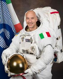 L'astronaute Italien Lucas Parmitano.