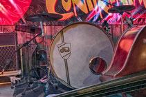 The Continentals Bass und Schlagzeug