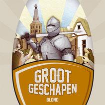 Logo Groot Geschapen blond bier uit Barneveld