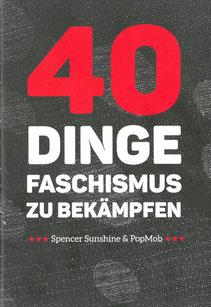 40 Dinge Faschismus zu bekämpfen