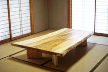 栃 テーブル 広島