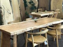 アメリカンチェリー テーブル 一枚板 広島