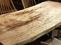 栃 テーブル 一枚板 広島 天板 素材