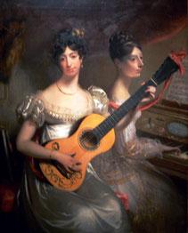 The Misses Powden. Gemälde von William Beechey, 1819.