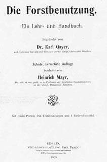 gayer, mayer, 1909