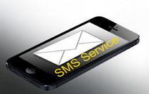 SMS Service - Sie werden per SMS über die Fertigstellung der Reparatur verständigt