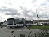 Mercedes O530 Citaro 2 G n°144065 de Keolis Armor (Rennes) à Saint-Malo Intra Muros.